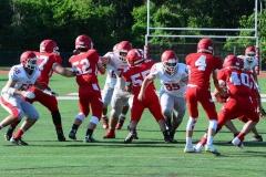 CIAC Football; Wolcott Red vs. White Spring Game - Photo # (19)
