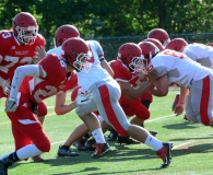 CIAC Football; Wolcott Red vs. White Spring Game - Photo # (193)