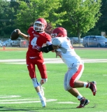 CIAC Football; Wolcott Red vs. White Spring Game - Photo # (197)