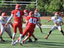 CIAC Football; Wolcott Red vs. White Spring Game - Photo # (20)