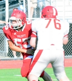 CIAC Football; Wolcott Red vs. White Spring Game - Photo # (204)
