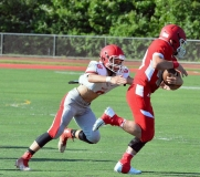 CIAC Football; Wolcott Red vs. White Spring Game - Photo # (21)