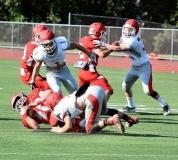 CIAC Football; Wolcott Red vs. White Spring Game - Photo # (22)