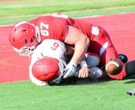 CIAC Football; Wolcott Red vs. White Spring Game - Photo # (230)-001