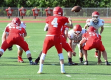 CIAC Football; Wolcott Red vs. White Spring Game - Photo # (25)