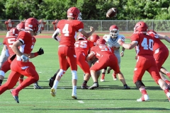 CIAC Football; Wolcott Red vs. White Spring Game - Photo # (26)