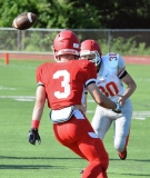 CIAC Football; Wolcott Red vs. White Spring Game - Photo # (27)
