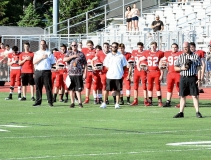 CIAC Football; Wolcott Red vs. White Spring Game - Photo # (3)