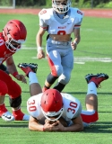 CIAC Football; Wolcott Red vs. White Spring Game - Photo # (30)