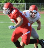 CIAC Football; Wolcott Red vs. White Spring Game - Photo # (37)