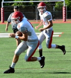 CIAC Football; Wolcott Red vs. White Spring Game - Photo # (39)