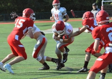 CIAC Football; Wolcott Red vs. White Spring Game - Photo # (40)