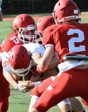 CIAC Football; Wolcott Red vs. White Spring Game - Photo # (42)