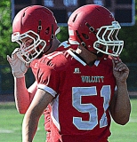 CIAC Football; Wolcott Red vs. White Spring Game - Photo # (47)
