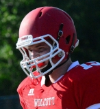 CIAC Football; Wolcott Red vs. White Spring Game - Photo # (49)