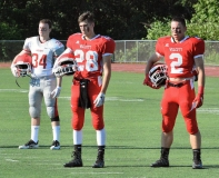 CIAC Football; Wolcott Red vs. White Spring Game - Photo # (5)
