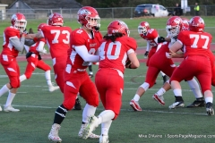 CIAC Football; Wolcott vs. Watertown - Photo # 076