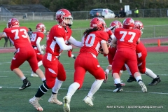 CIAC Football; Wolcott vs. Watertown - Photo # 077