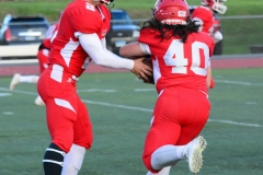 CIAC Football; Wolcott vs. Watertown - Photo # 088