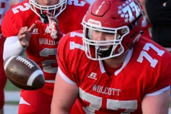 CIAC Football; Wolcott vs. Watertown - Photo # 105