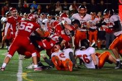 CIAC Football; Wolcott vs. Watertown - Photo # 1074