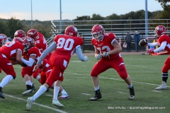 CIAC Football; Wolcott vs. Watertown - Photo # 137
