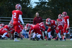 CIAC Football; Wolcott vs. Watertown - Photo # 167