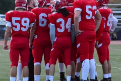 CIAC Football; Wolcott vs. Watertown - Photo # 182