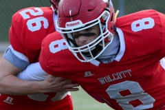 CIAC Football; Wolcott vs. Watertown - Photo # 191