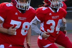 CIAC Football; Wolcott vs. Watertown - Photo # 317