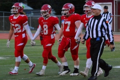 CIAC Football; Wolcott vs. Watertown - Photo # 366