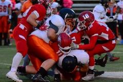 CIAC Football; Wolcott vs. Watertown - Photo # 559