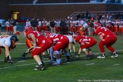 CIAC Football; Wolcott vs. Watertown - Photo # 581