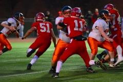 CIAC Football; Wolcott vs. Watertown - Photo # 672