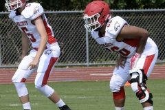 Wolcott Football Red vs White Photo # 571