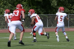 Wolcott Football Red vs White Photo # 572