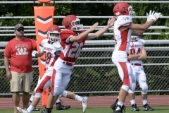 Wolcott Football Red vs White Photo # 576