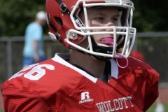 Wolcott Football Red vs White Photo # 581