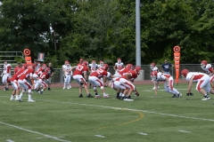 Wolcott Football Red vs White Photo # 586