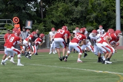 Wolcott Football Red vs White Photo # 587