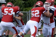 Wolcott Football Red vs White Photo # 588