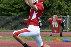 Wolcott Football Red vs White Photo # 593