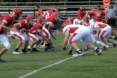Wolcott Football Red vs White Photo # 597