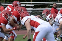 Wolcott Football Red vs White Photo # 598