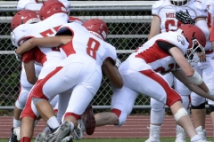 Wolcott Football Red vs White Photo # 606