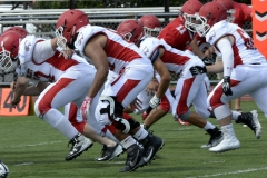 Wolcott Football Red vs White Photo # 607