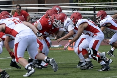 Wolcott Football Red vs White Photo # 608