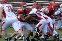Wolcott Football Red vs White Photo # 609