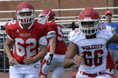Wolcott Football Red vs White Photo # 615