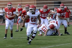 Wolcott Football Red vs White Photo # 616